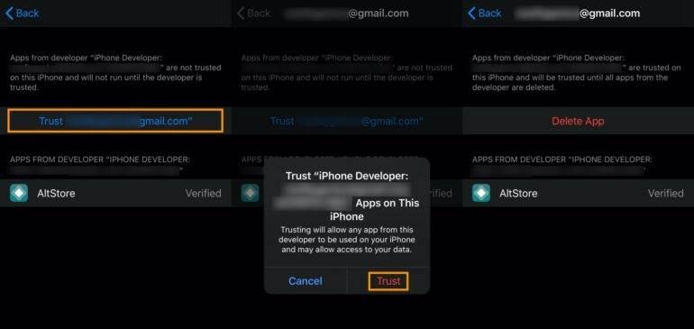 Jak wykonać Jailbreak iOS 13.5 / iPadOS 13.5 za pomocą AltStore - instrukcja krok po kroku poradniki, polecane, cydia-i-jailbreak, ciekawostki jak zrobić jailbreak iPadOS 13.5, jak zrobić jailbreak iOS 13.5, jailbreak iPadOS 13.5, jailbreak iOS 13.5, jailbreak, Instrukcja, Cydia, AltStore  Opisywaliśmy już Wam jak zrobić Jailbreak iOS 13.5 / iPadOS 13.5 za pomocą Cydia Inpactor, a tym razem pokażemy Wam jak wykonać Jailbreak najnowszego oprogramowania za pomocą AltStore. 10