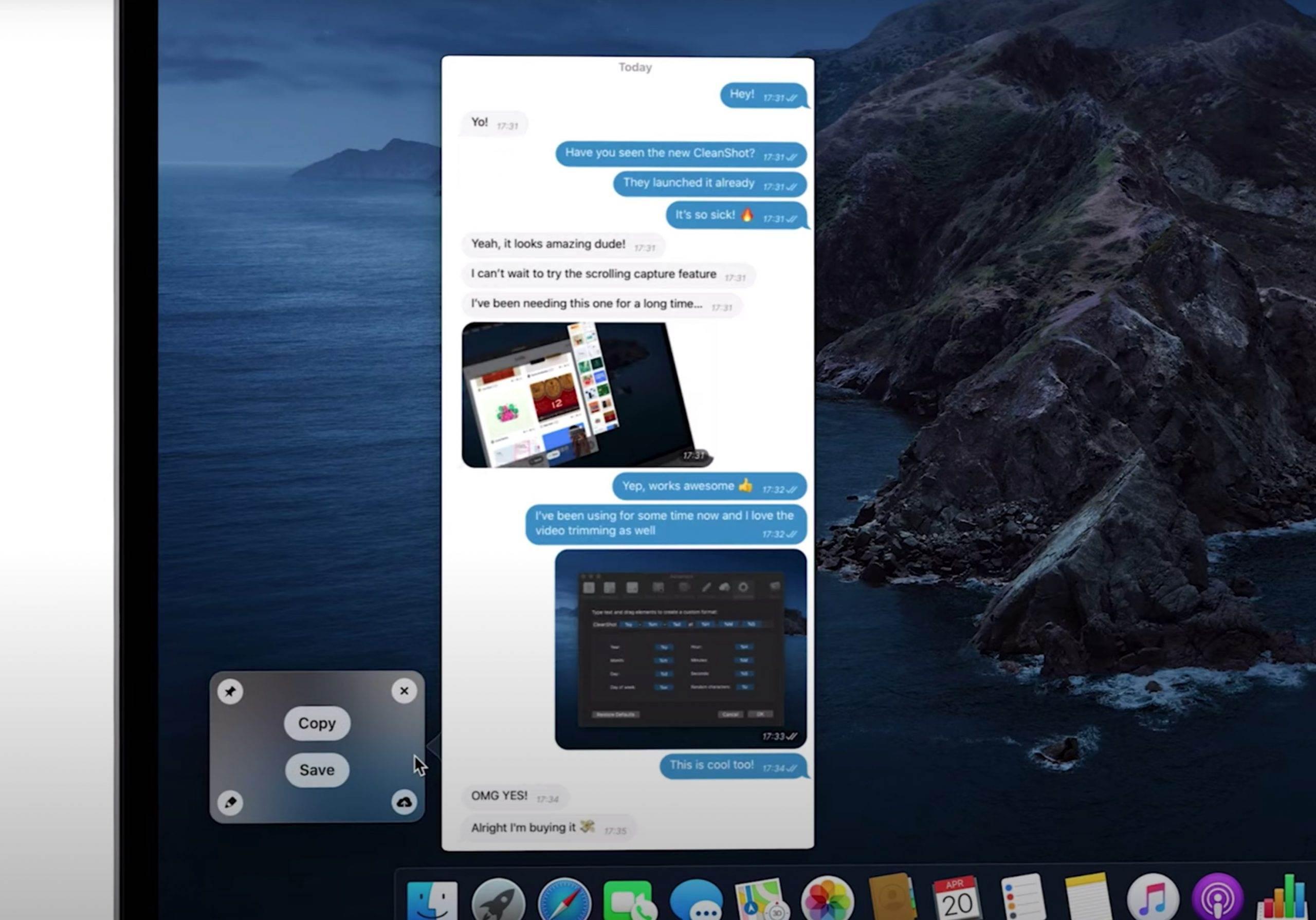 CleanShot X - zrzuty i nagrania ekranu na wyższym poziomie recenzje, polecane, ciekawostki Wideo, Recenzja, program do zrzutów ekranu, download, CleanShot X, Apple  macOS, a zwłaszcza dawny Mac OS X, zawsze kojarzył mi się ze stawianiem wyglądu programu przynajmniej na równi z jego funkcjonalnością. 1@2x 7 scaled