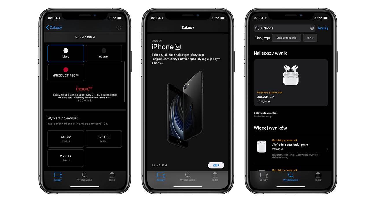 Apple zaktualizowało aplikację Apple Store i dodało obsługę trybu ciemnego polecane, ciekawostki tryb ciemny, dark mode, Apple Store, Aktualizacja  Tryb ciemny jest teraz dostępny również w aplikacji Apple Store, dzięki najnowszej aktualizacji wydanej przez Apple dziś w nocy.  AppleStrore