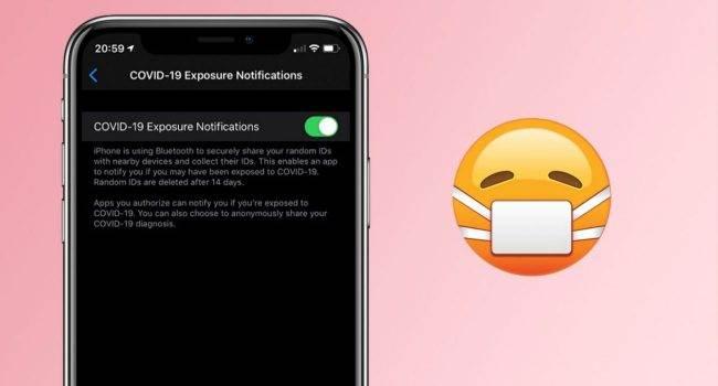 Jak działa nadzór nad osobami z koronawirusem w iOS 13.5 polecane, ciekawostki śledzenie ludzi z koronawirusem, koronawirus, Apple  Deweloper Guillerme Rambo powiedział, w jaki sposób iOS 13.5 przetwarza dane w celu śledzenia kontaktów ludzi w koronawirusem. koronawirus 650x350