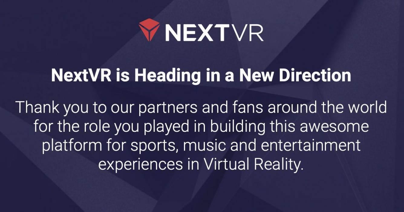 Apple kupiło i zamknęło NextVR polecane, ciekawostki NextVR, Apple  Kilka dni temu, Apple nabyło Kalifornijską firmę NextVR, która transmituje wydarzenia sportowe i rozrywkowe w wirtualnej rzeczywistości. Poinformował o tym Bloomberg. nextvracquisition