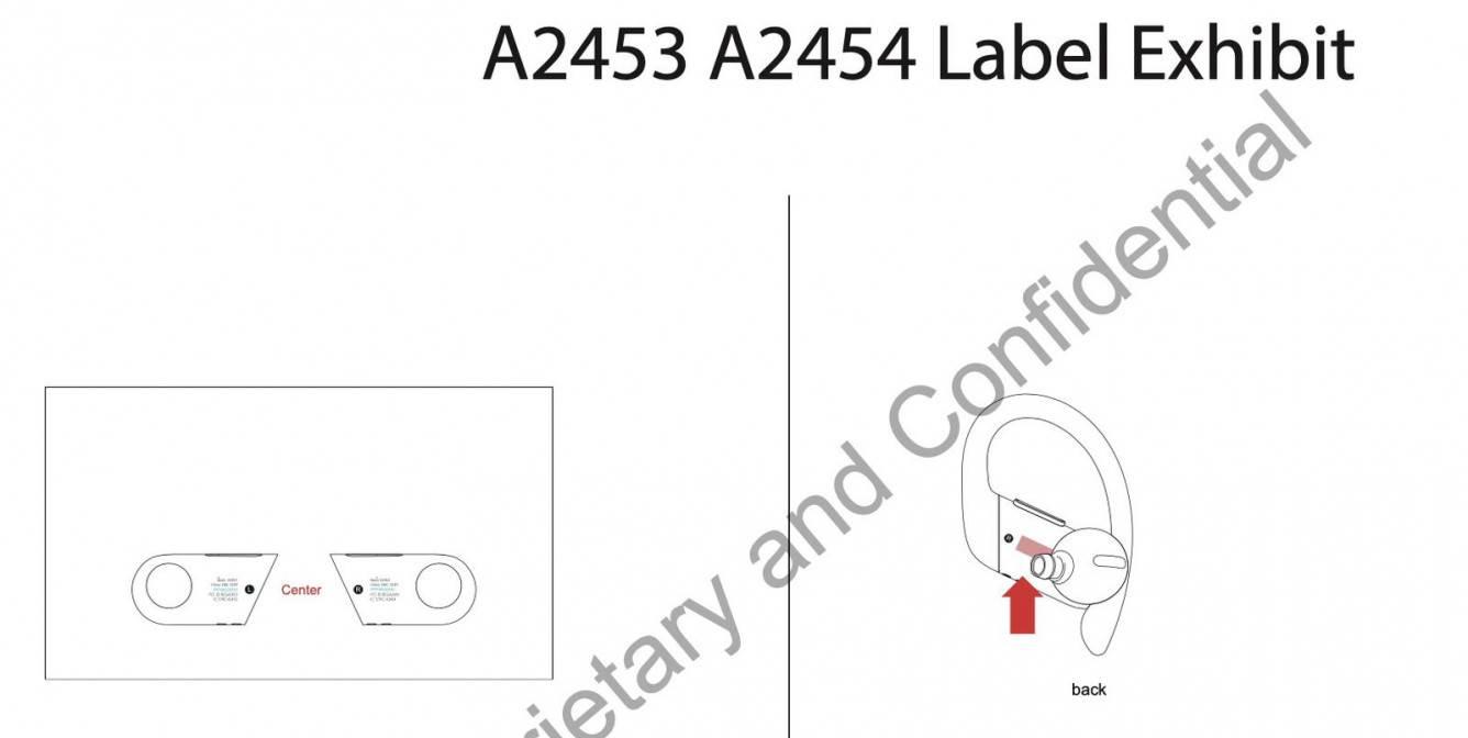 Apple po cicho wypuściło nowe Powerbeats Pro polecane, ciekawostki Powerbeats Pro, Apple  Apple po cichu wypuściło nowe Powerbeats Pro o numerach A2453 i A2454. Słuchawki praktycznie nie różnią się od swojego poprzednika. powerbeats pro 2 fcc