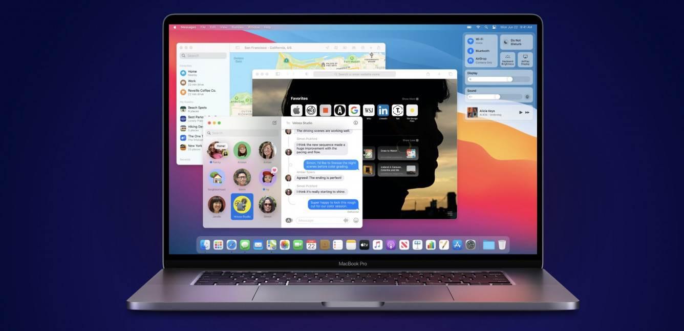 macOS Big Sur oficjalnie zaprezentowany polecane, ciekawostki nowosci w macOS Big Sur, nowości w macOS Big Sur, nowosci, macOS Big Sur, lista zmian w macOS Big Sur, co nowego w macOS Big Sur  Wczoraj, 22 czerwca, pierwszego dnia WWDC 2020, Apple zapreznetowało kolejną wersję systemu operacyjnego dla komputerów - macOS Big Sur. Sur 1