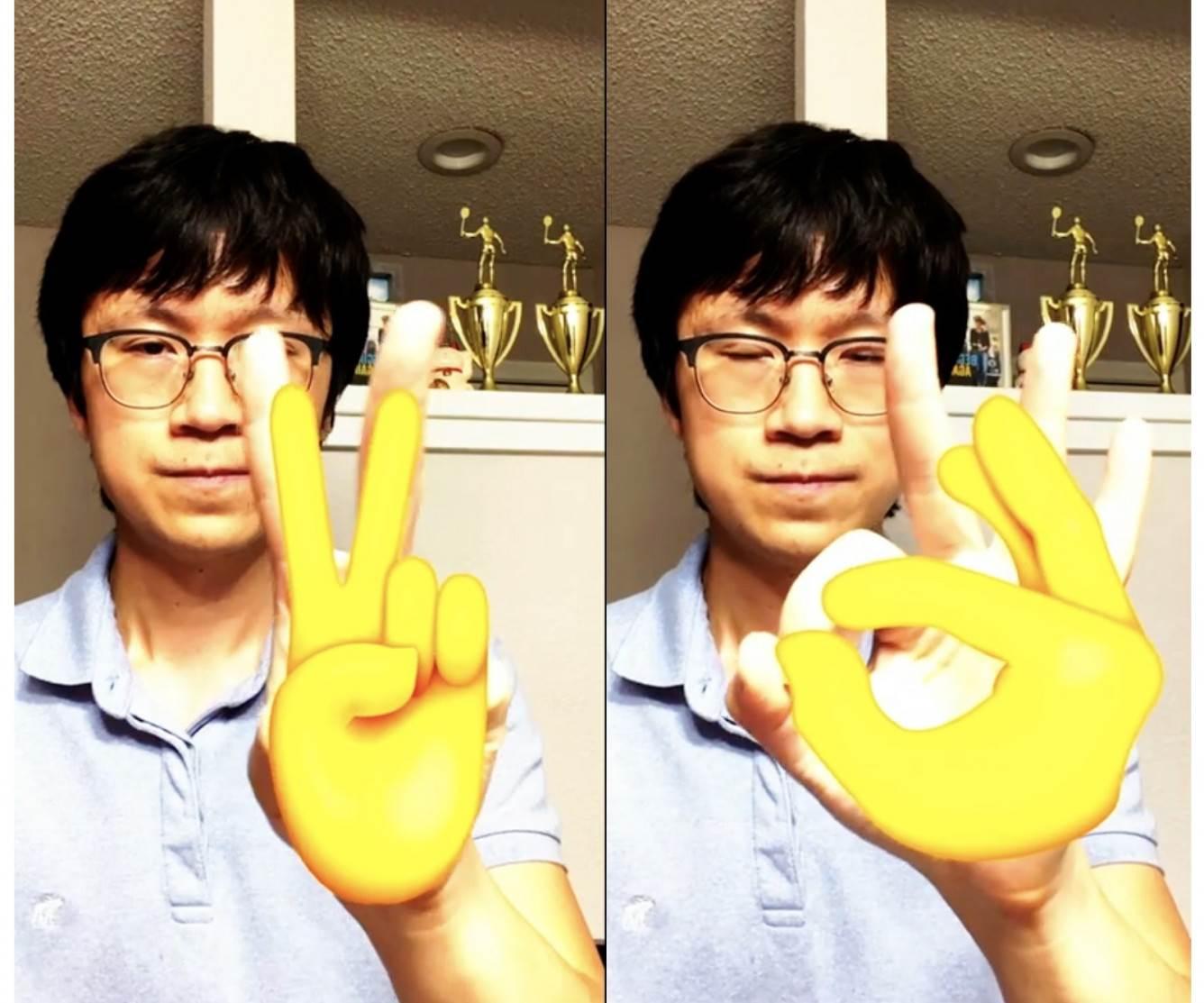Systemy iOS 14 i macOS Big Sur rozpoznają pozycję i gesty użytkowników polecane, ciekawostki rozpoznawanie gestów, macOS Big Sur, iOS 14  Wraz z wydaniem iOS 14 i macOS Big Sur programiści będą mogli korzystać z funkcji rozpoznawania pozycji ciała i dłoni w aplikacjach, korzystając ze zaktualizowanej platformy Apple Vision. apple vision framework hand emoji