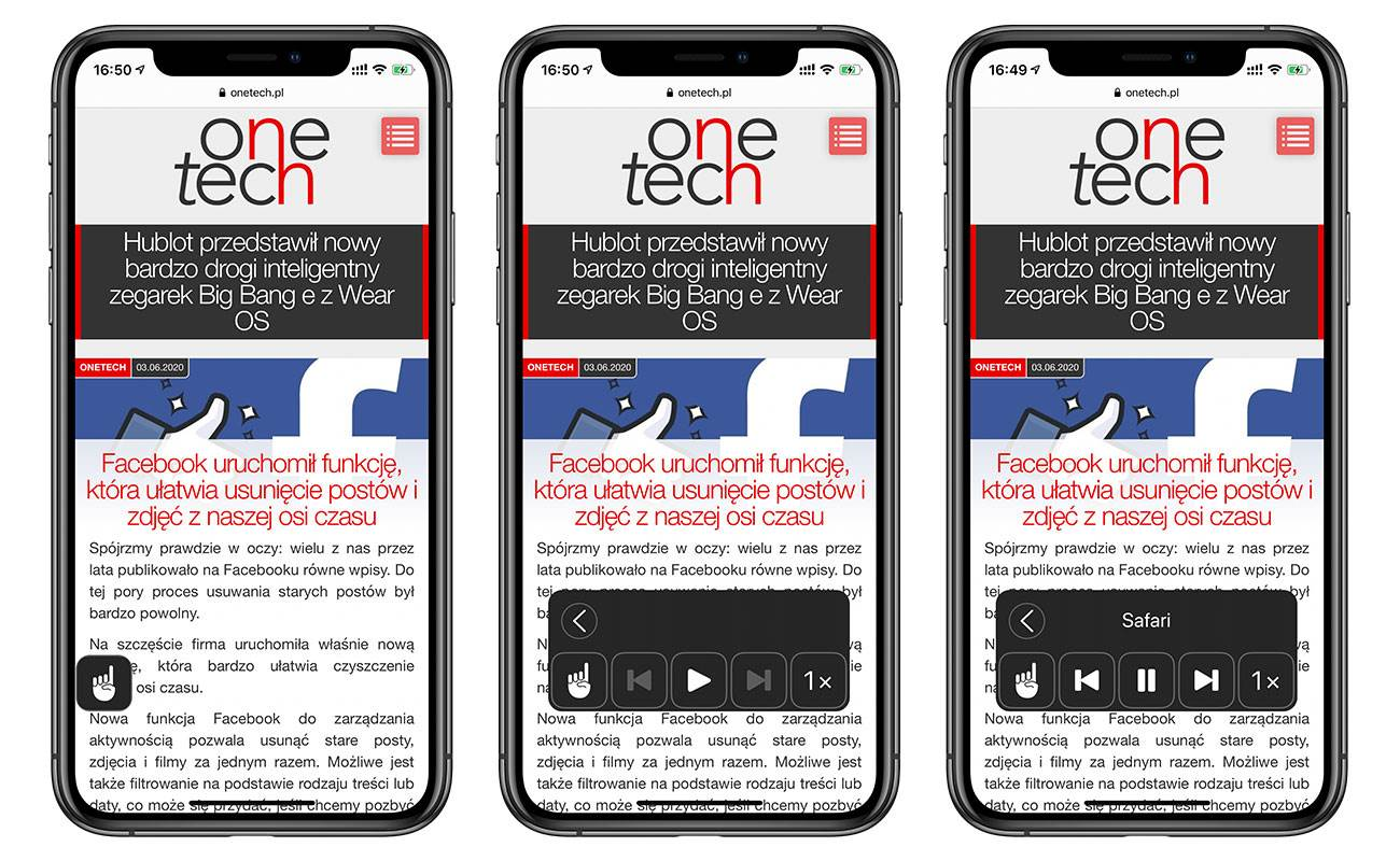 Koniec czytania wpisów! Ta mało znana funkcja w iOS zmienia dowolny artykuł w audiobooka polecane, ciekawostki zmień artykuł w audiobooka, Przeczytaj ekran, Kontroler mowy, iPhone czyta tekst, iPhone, iPad czyta tekst, iPad  Mamy dla Was kolejną bardzo ciekawą funkcję o której być może większość z Was nie wie. Jest to wbudowana w iOS od bodajże 5 lat funkcja, która zmienia dowolny tekst lub artykuł z sieci w audiobooka. Od dziś koniec czytania długich wpisów! audiobook 2