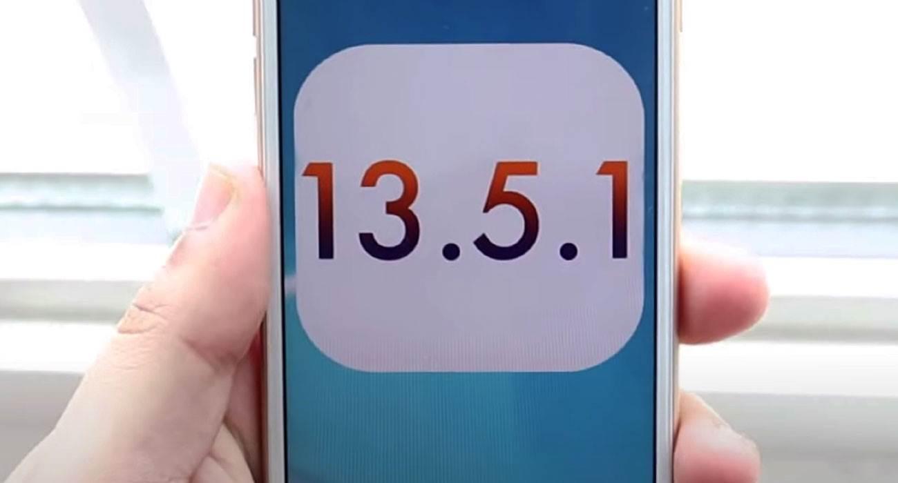 Apple blokuje możliwość powrotu do iPadOS / iOS 13.5.1 polecane, ciekawostki Update, jak wrocic do iOS 13.5.1, iPhone, iPad  Nie mamy dobrych wieści dla osób, które chciały wrzucić na swoje iUrządzenia iPadOS 13.5.1 / iOS 13.5.1. iOS13.5.1