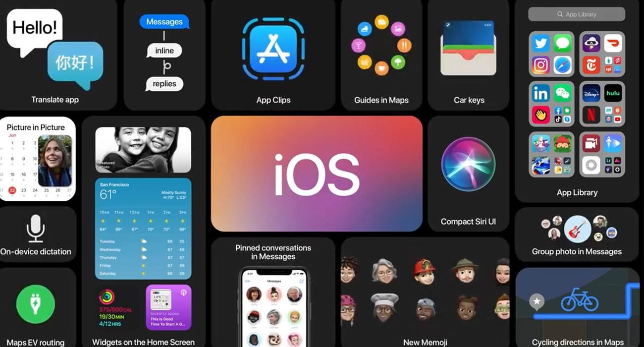 iOS 14 oficjalnie zaprezentowany. Przegląd nowości polecane, ciekawostki przegląd nowości w iOS 14, nowości w iOS 14, iOS 14 oficjalnie, iOS 14, co nowego w iOS 14  Dzisiaj, 22 czerwca, Apple oficjalnie zaprezentowało przyszłą aktualizację systemu operacyjnego dla iPhone - iOS 14. iOS14 1 1