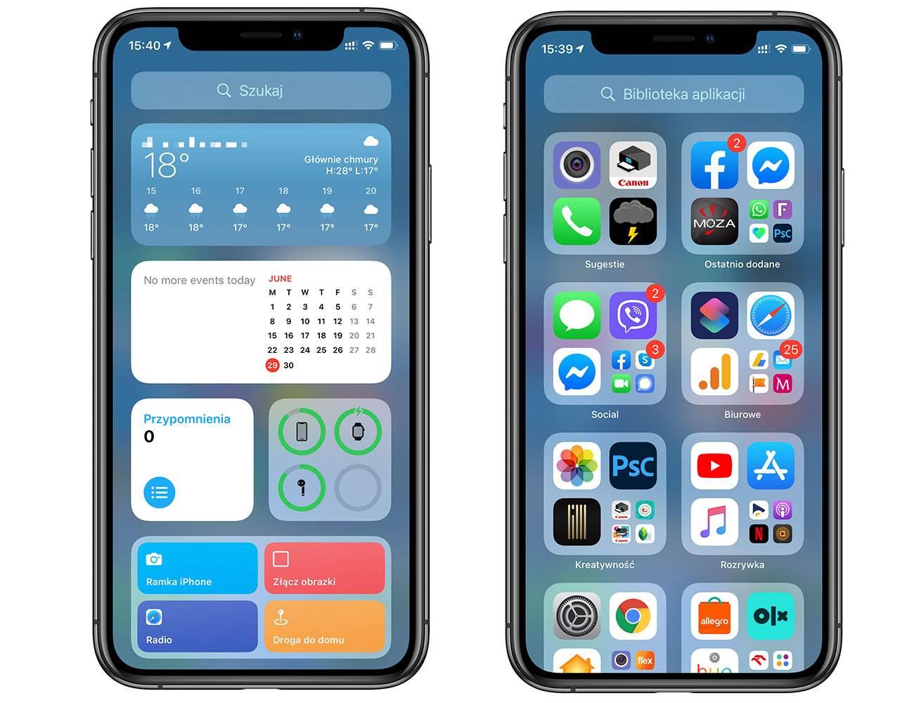 iOS 14 pozwala ukryć nieużywane ekrany główne polecane, ciekawostki jak ukryc ekran, iPhone, iOS 14  Po kilkudniowej przerwie powracamy do opisywania nowości dostępnych w iOS 14. W tym wpisie dowiecie się jak ukryć nieużywane ekrany główne w iPhone. iOS14 1 7