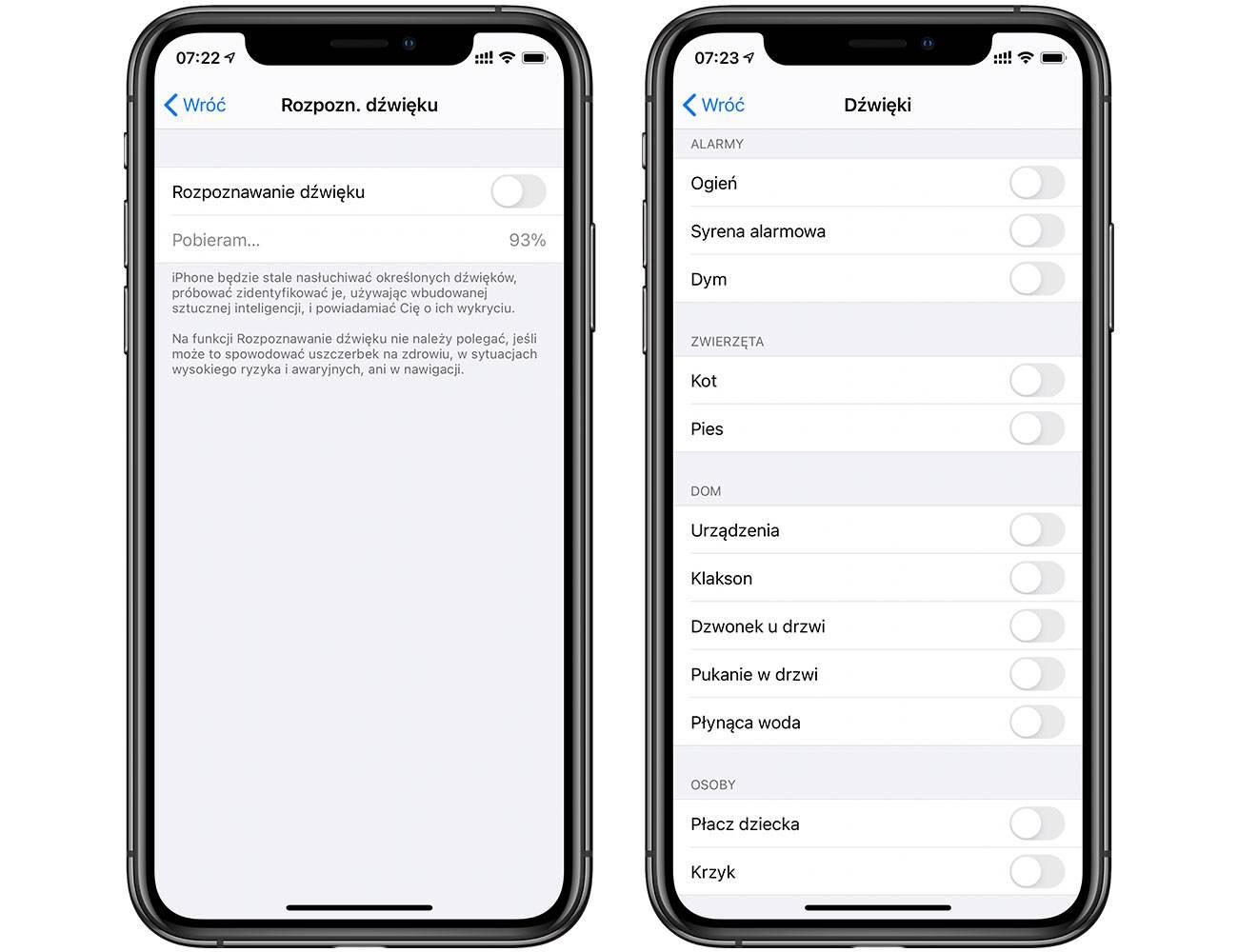 Rozpoznawanie dźwięku - kolejna ciekawa funkcja w iOS 14 polecane, ciekawostki rozpoznawanie dzwieku, Rozpoznawanie dźwięku, nowosc w iOS 14, Nowość, iphone rozpozna dzwiek, iOS 14  Kolejną bardzo interesującą funkcją w iOS 14 o której trzeba koniecznie napisać jest Rozpoznawanie dźwięku. Słyszeliście już o niej? iOS14 rozpoznawanie 2