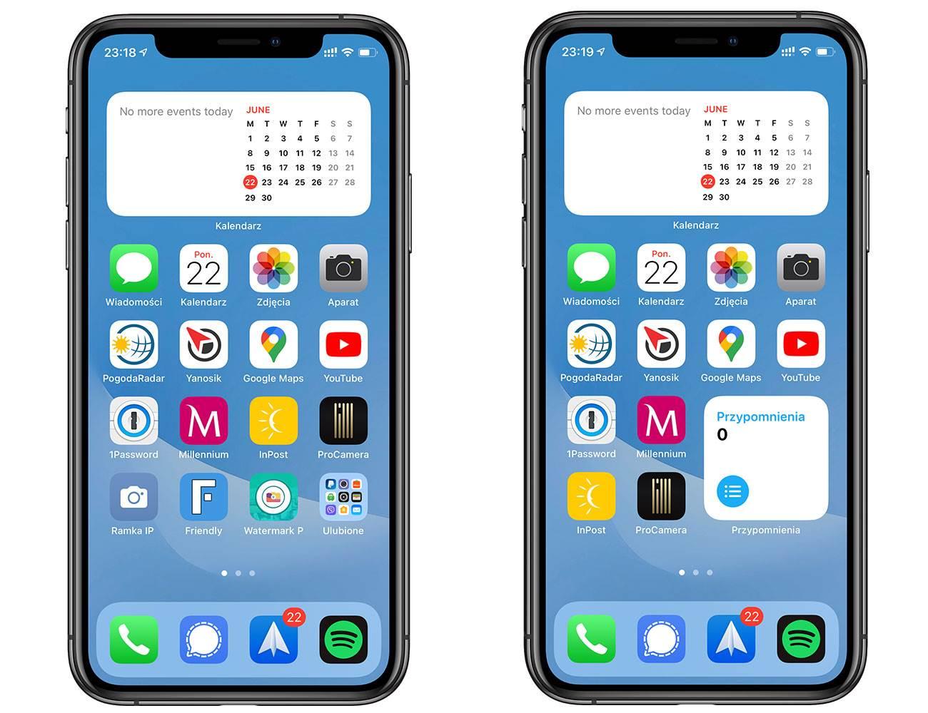 iOS 14 - polskie screeny polecane, ciekawostki zrzuty ekranu, screeny, polskie screeny z iOS 14 beta 1, polskie screeny z iOS 14, jak wygląda iOS 14 beta, jak wyglada iOS 14, iOS 14 z bliska, iOS 14 screeny, iOS 14 beta screeny, iOS, Apple  Pierwsza beta iOS 14 jest już w naszych rękach, więc przygotowaliśmy dla Was polskie screeny z najnowszej wersji iOS. iOS14beta1 9
