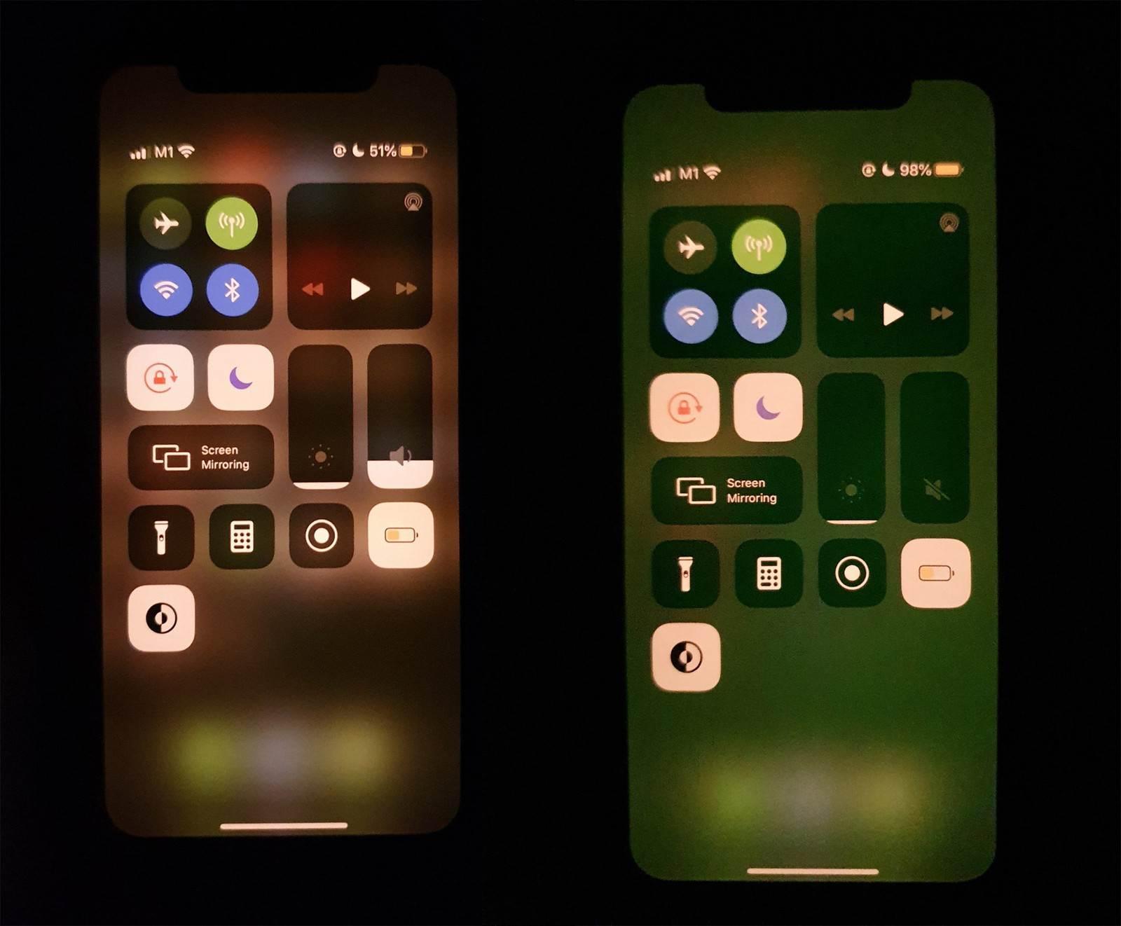 Zielony ekran po odblokowaniu iPhone. Problem sprzętowy czy błąd oprogramowania? polecane, ciekawostki zielony odcień ekranu, zielony ekran, iPhone 11 Pro, iPhone 11  Niektórzy właściciele iPhone 11, iPhone 11 Pro a także iPhone 11 Pro Max mają nowy problem. Ich ekran zaraz po odblokowaniu jest zielony. iPhone11 zielony ekran
