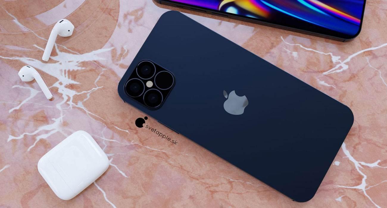 Granatowy kolor i design w stylu iPada Pro - zobacz nowe rendery iPhone 12 Pro polecane, ciekawostki wygląd iPhone 12 Pro, rendery, iPhone 12 Pro  Svetapple opublikował nowe rendery iPhone 12 Pro, które powstały na podstawie najnowszych przecieków. Urządzenie wygląda genialnie. Musicie koniecznie to zobaczyć. iPhone12Pro 10