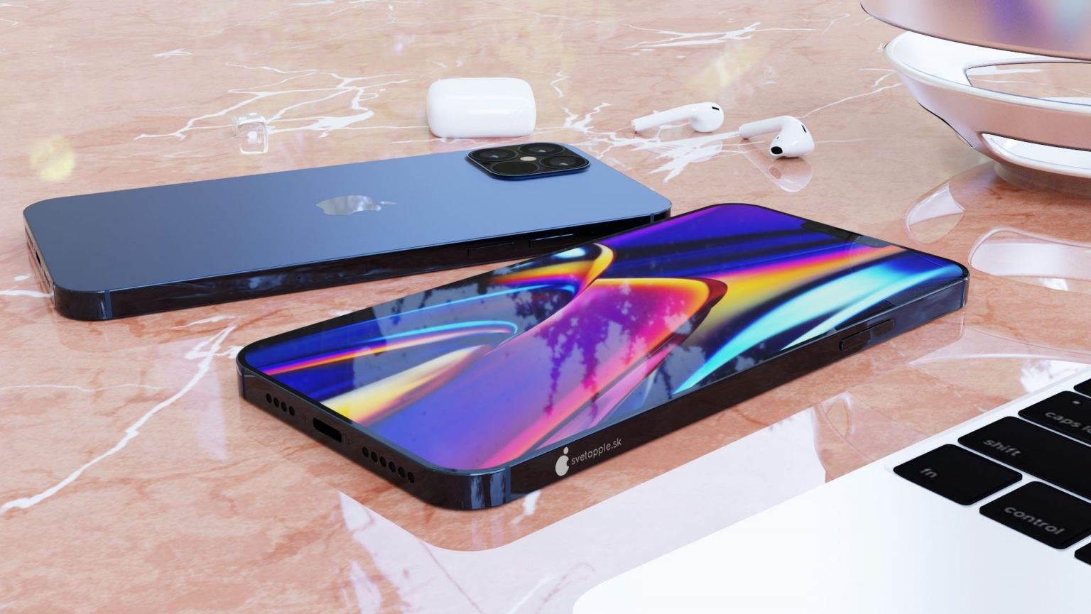 Granatowy kolor i design w stylu iPada Pro - zobacz nowe rendery iPhone 12 Pro polecane, ciekawostki wygląd iPhone 12 Pro, rendery, iPhone 12 Pro  Svetapple opublikował nowe rendery iPhone 12 Pro, które powstały na podstawie najnowszych przecieków. Urządzenie wygląda genialnie. Musicie koniecznie to zobaczyć. iPhone12Pro 5