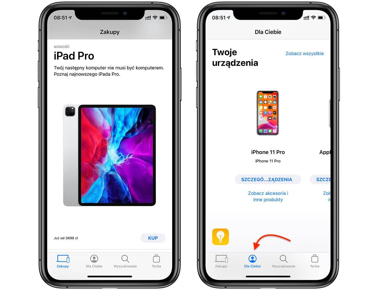 Aplikacja Apple Store na iOS ma nową zakładkę ?Dla Ciebie? polecane, ciekawostki iOS, dla ciebie, Apple Store, Aplikacja  Firma Apple zaktualizowała aplikację Apple Store i dodała nową zakładkę ?Dla Ciebie? ze spersonalizowanymi rekomendacjami i innymi innowacjami. AppleStore 1