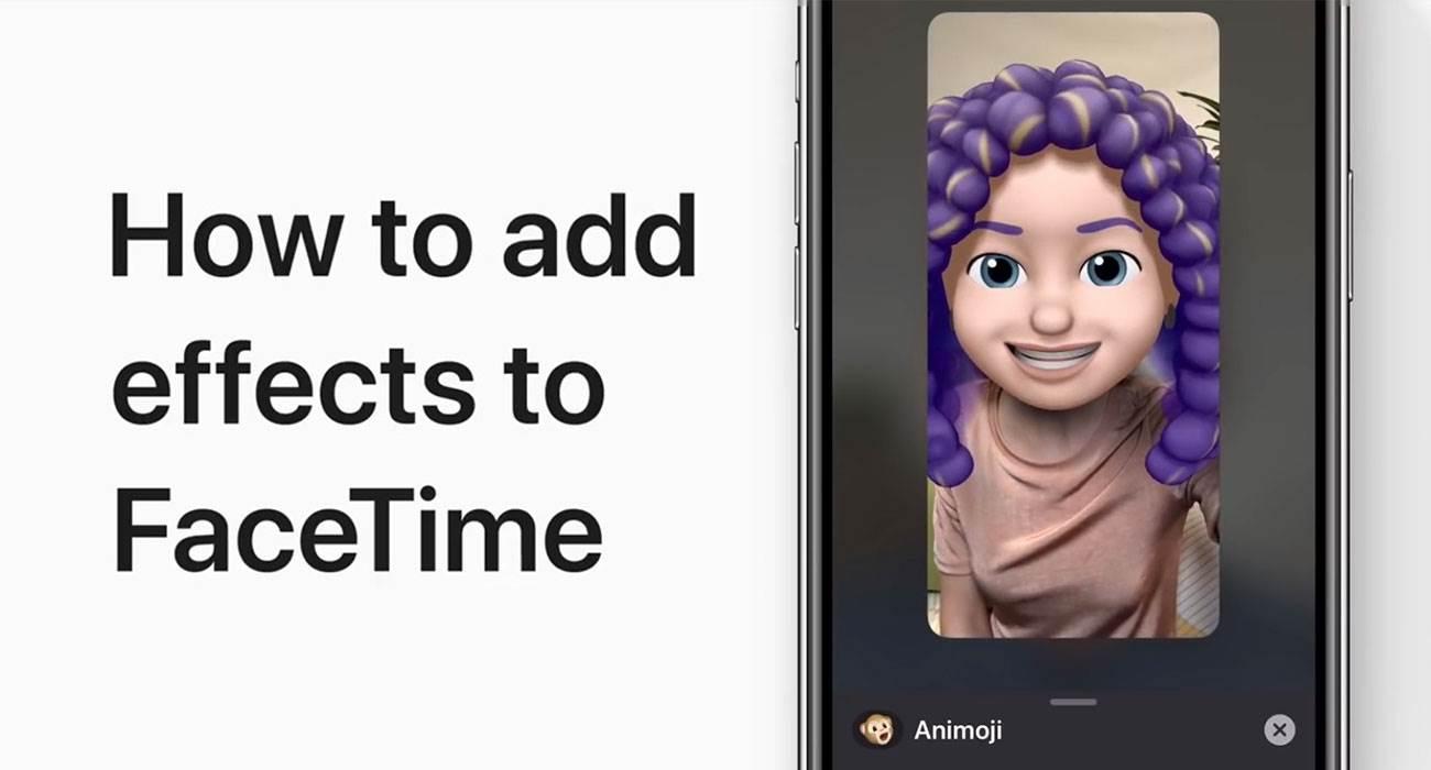 Apple pokazuje jak dodać efekty do rozmowy FaceTime Wideo polecane, ciekawostki Wideo, FaceTime, Apple  Właśnie na kanale Apple Support pojawiło się nowe wideo w którym to gigant z Cupertino pokazuje jak dodać efekty do rozmowy FaceTime Wideo. FaceTime efekt