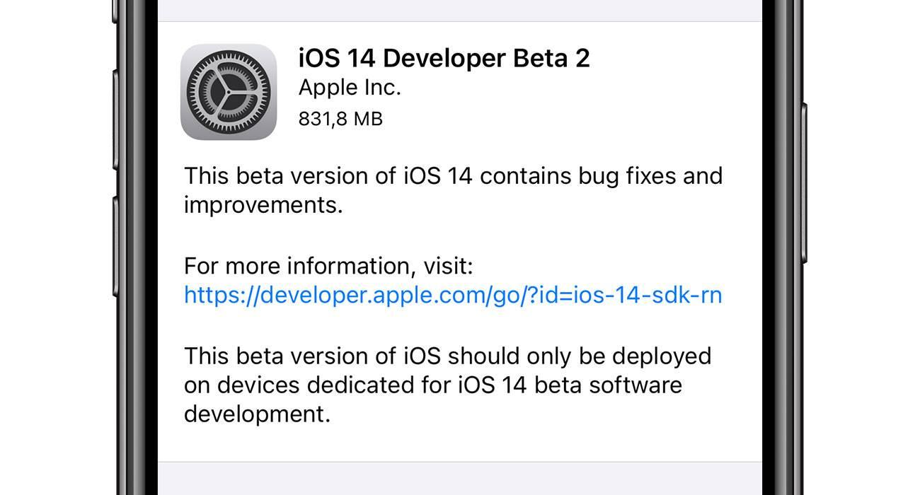 iOS 14 beta 2 dostępna do pobrania - lista zmian polecane, ciekawostki zmiany, Update, nowosci, lista zmian, iOS 14 beta 2 lista zmian, iOS 14 beta, co nowego w iOS 14 beta 2, co nowego, Apple, Aktualizacja  Od czasu udostępnienia pierwszej bety iOS 14 minęły nieco ponad dwa tygodnie, więc zgodnie z tradycją Apple udostępniło właśnie deweloperom drugą betę iOS 14. Co zostało zmienione w stosunku do pierwszej bety najnowszego iOS? iOS14b2