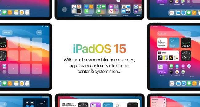 Ciekawa koncepcja iPadOS 15 ciekawostki iPadOS 15, iPad, Apple  Projektant Parker Ortolani przedstawił pierwszą koncepcję iPadOS 15 z ulepszonym ekranem głównym. iPadOS15 1 650x350