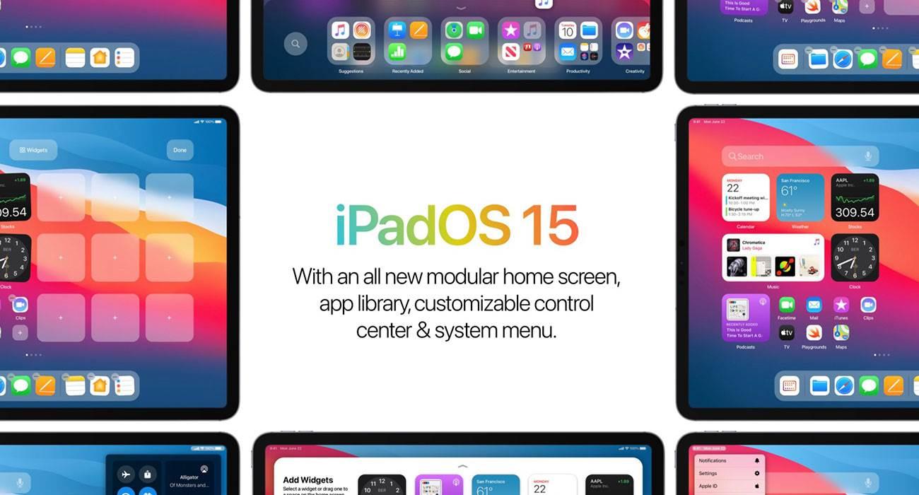 Ciekawa koncepcja iPadOS 15 ciekawostki iPadOS 15, iPad, Apple  Projektant Parker Ortolani przedstawił pierwszą koncepcję iPadOS 15 z ulepszonym ekranem głównym. iPadOS15 1