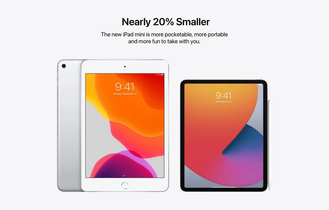 """W sieci pojawił się koncept bezramkowego iPada mini polecane, ciekawostki iPad mini 2021, iPad mini  Projektant Parker Ortolani opublikował na Twitterze koncepcję Apple iPad mini nowej generacji. Nowy """"miniak"""" jest bardzo podobny do iPada Pro. iPadmini2021"""