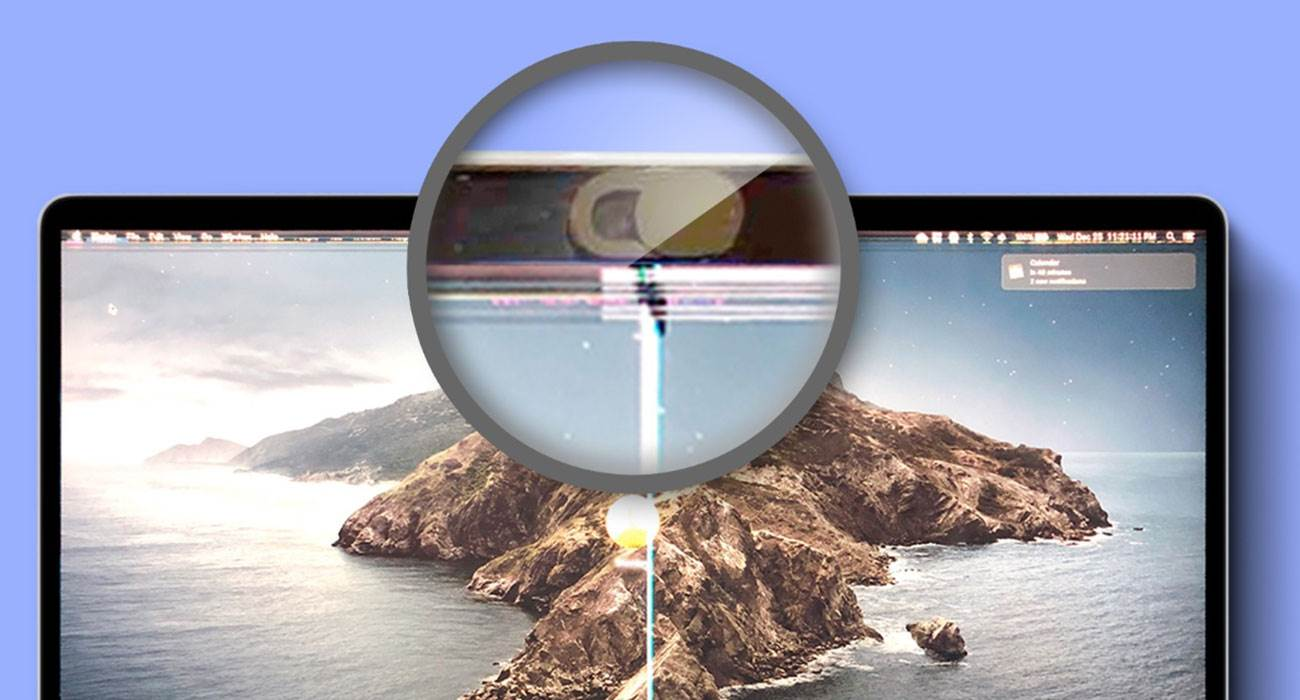 Osłona kamery internetowej może uszkodzić ekran Twojego MacBooka polecane, ciekawostki MacBook, kamera  Jeśli używasz specjalnej nalepki, osłony kamery internetowej na MacBooku, bądź bardzo ostrożny. Jak się okazuje mogą one uszkodzić wyświetlacz Twojego laptopa. kamera