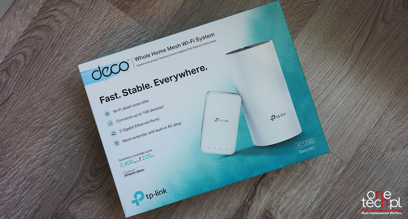 TP-Link Deco M3 - niedrogi domowy system Wi-Fi Mesh AC1200 recenzje, polecane, ciekawostki wi-fi mesh, TP-Link Deco M3, tp link, Recenzja, Mesh  Zaprojektowany dla domów o powierzchni do 220 m2, TP-Link Deco M3 to niedrogi dwuczęściowy system Wi-Fi typu Mesh, który jest prosty w instalacji i jeszcze łatwiejszy w zarządzaniu dzięki przyjaznej dla użytkownika aplikacji mobilnej. deco3 4