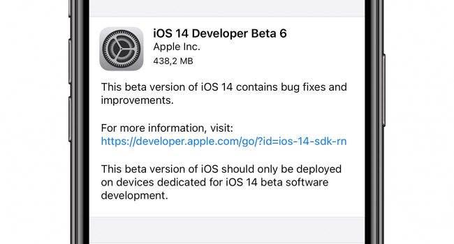 iOS 14 beta 6 dostępna do pobrania - lista zmian polecane, ciekawostki zmiany, Update, nowosci, lista zmian w iOS 14 beta 6, lista zmian, iOS 14 beta 6, iOS 14 beta, co nowego w iOS 14 beta 6, co nowego, Apple, Aktualizacja  Bardzo dobra wiadomość dla beta testów. Właśnie Apple udostępniło im szóstą już betę iOS 14 / iPadOS 14. Lista zmian i nowości w iOS 14 beta 6 poniżej. iOS14beta6 650x350