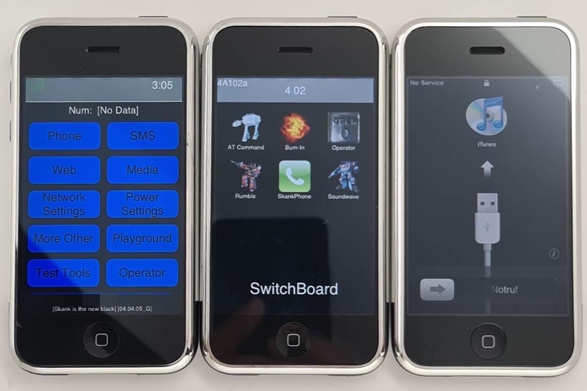 W sieci pojawiły się zdjęcia pierwszego iPhone'a z nietypowym przyciskiem trybu cichego polecane, ciekawostki iPhone 2G, Apple  Kilka dni temu do sieci trafiły ciekawe zdjęcia na których możemy zobaczyć pierwszego iPhone?a 2G z nietypowym przyciskiem trybu cichego. iP2g 1