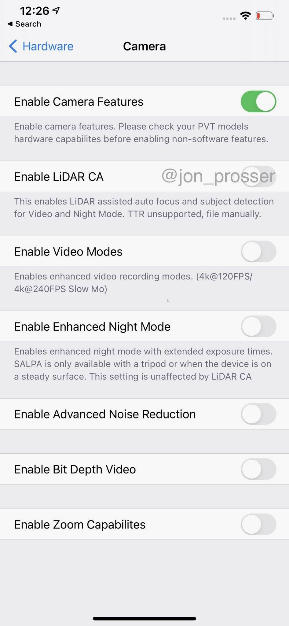 W sieci pojawiły się zdjęcia i filmy działającego prototypu iPhone 12 Pro Max z ekranem 120 Hz polecane, ciekawostki Wideo, iPhone 12 Pro na filmie, iPhone 12 Pro, Apple  W sieci pojawiły się zdjęcia i co ciekawe filmy działającego prototypu iPhone 12 Pro Max. Musicie to zobaczyć. ip12 2