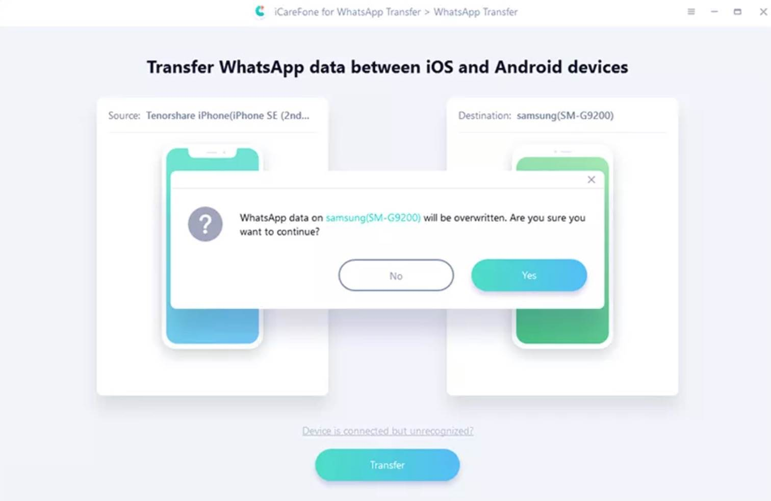 iCareFone: przesyłaj, twórz kopie zapasowe i przywracaj dane WhatsApp polecane, ciekawostki WhatsApp, jak przeniesc whastapp, iCareFone Whatsapp Transfer, iCareFone  Ponad miliard ludzi regularnie korzysta z komunikatora WhatsApp, który zapewnia bezpieczną komunikację z naszymi przyjaciółmi i rodziną. Wszystko fajnie pięknie, ale problem pojawia się wtedy, gdy chcemy przenieść czaty do nowego telefonu z innym systemem.  1@2x 31