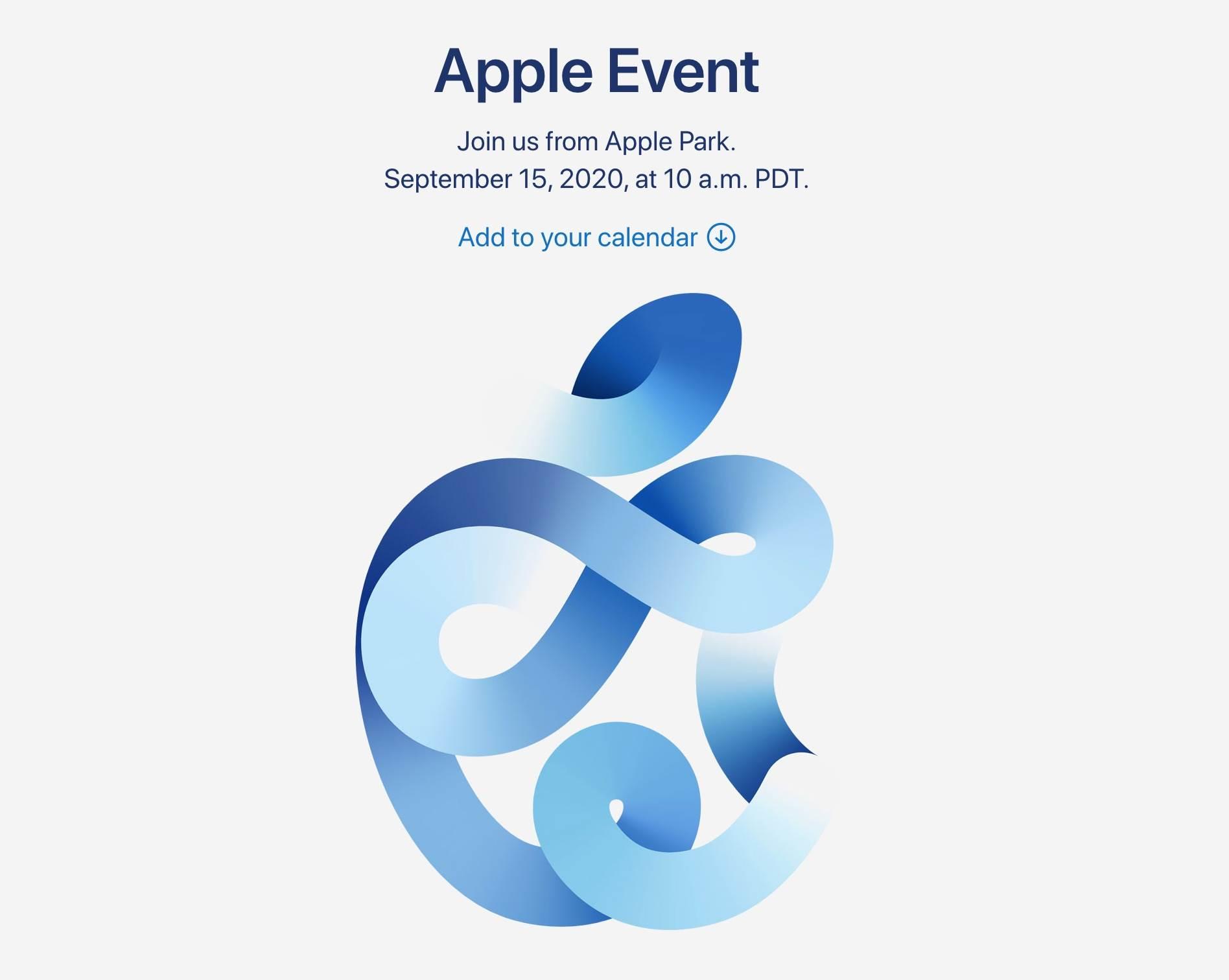 Prezentacja iPhone 12 odbędzie się 15 września 2020 roku? polecane, ciekawostki prezentacja iPhone 12, iPhone 12, Apple  Dzisiaj, 8 września, Apple oficjalnie ogłosiło, że specjalna konferencja na której najprawdopodobniej będzie miała miejsce prezentacja iPhone 12 obędzie się już za tydzień, czyli we wtorek 15 września 2020 roku. 1@2x 5