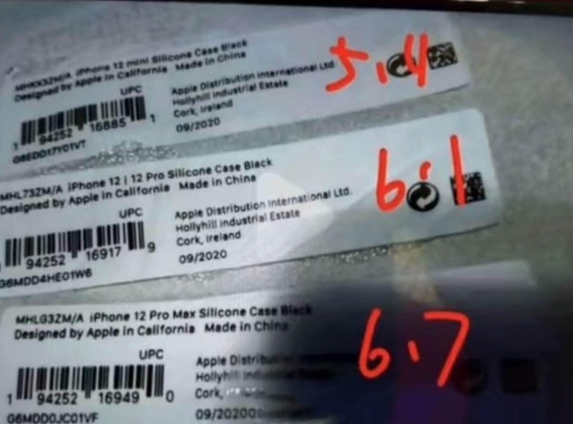 Zdjęcie naklejek z markowych etui Apple zdradza nazwy wszystkich tegorocznych iPhone?ów polecane, ciekawostki nazwy iPhone 12, iPhone 12 Pro Max, iPhone 12 Pro, iPhone 12, iPhoen 12 mini, etui  Informator DuanRui opublikował na Twitterze zdjęcie naklejek z markowych silikonowych etui firmy Apple, zdradzając tym samym nazwy wszystkich tegorocznych iPhone?ów. 1@2x 57