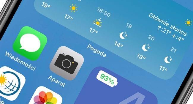 Color Widget - darmowy widżet pokazujący aktualny procentowy stan baterii iPhone'a polecane, ciekawostki Widget, status baterii, stan baterii, procentowy stan baterii, procentowy poziom baterii, procent baterii w widgecie, procent, poziom baterii w widgecie, poziom baterii, iPadOS 14, iOS 14  Color Widget to obowiązkowa aplikacja dla wszystkich użytkowników iPhone od modelu X wzwyż w których jak wiemy procentowy stan baterii został ukryty. bateria 1 650x350