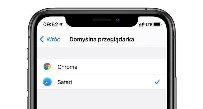 Jak ustawić Google Chrome jako domyślną przeglądarkę w iPhone polecane, ciekawostki iPhone, chrome domyslna przegladarka na iOS, Chrome  System iOS 14 wprowadził możliwość zmiany domyślnej przeglądarki i klienta poczty. W tym wpisie powiemy Ci jak ustawić Google Chrome jako domyślną przeglądarkę w iPhone już teraz. chrome domyslna ios 650x350