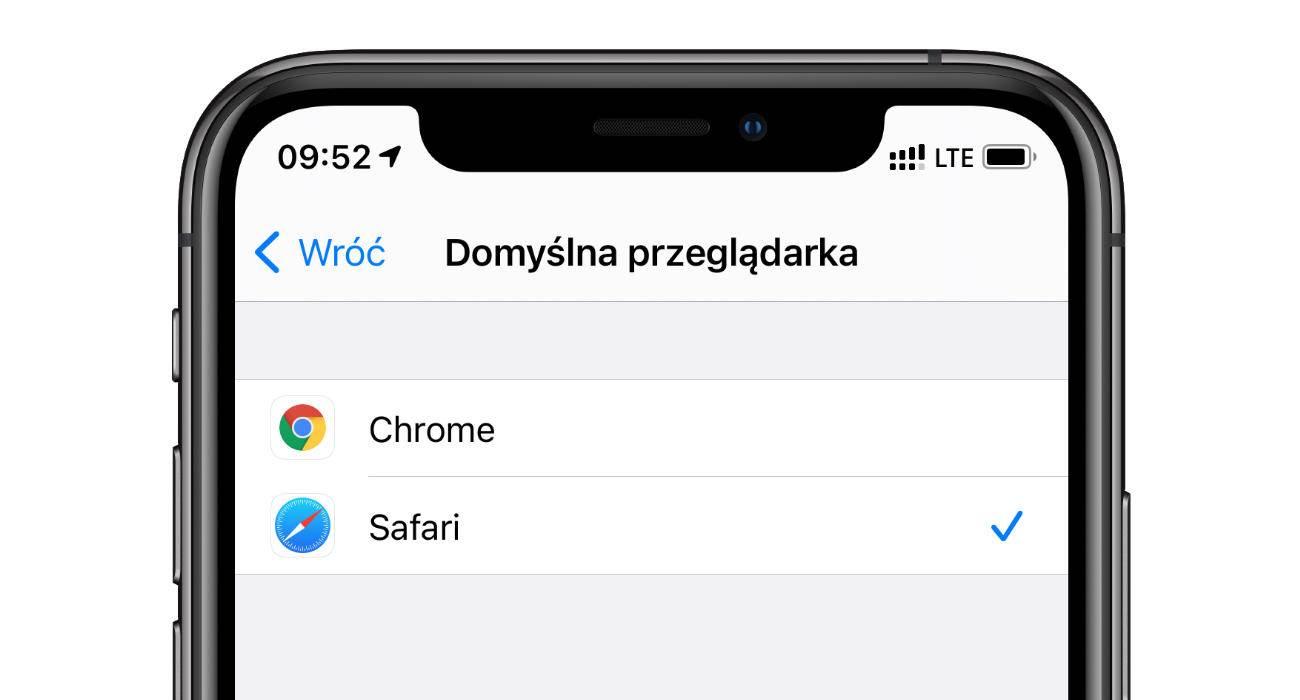 Zmieniłeś domyślą przeglądarkę lub Mail w iPadOS / iOS 14? Jeśli tak, to nie wyłączaj iPhone / iPad polecane, ciekawostki iOS 14, blad iPadOS 14, Apple  Jedną z nowych funkcji w iOS 14 / iPadOS 14 jest możliwość zmiany domyślnej aplikacji pocztowej i domyślnej przeglądarki. Funkcja fajna, ale z powodu błędu nie działa tak jak powinna. chrome domyslna ios