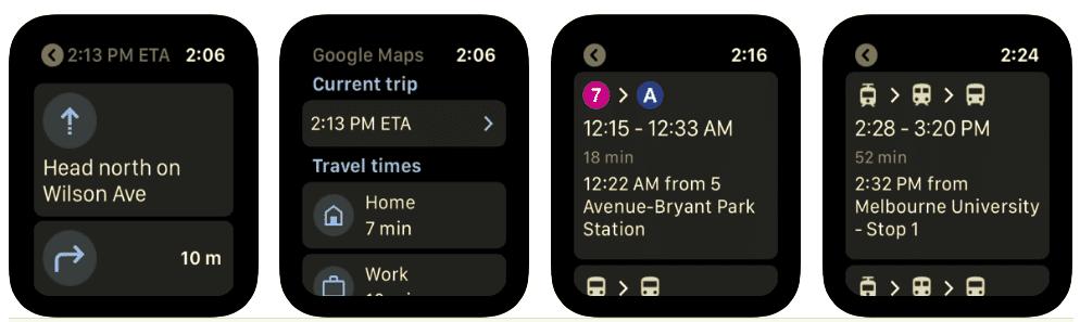 Mapy Google wracają do Apple Watch polecane, ciekawostki mapy google na apple watch, Mapy Google, Apple Watch  Po ogłoszeniu tej wiadomości w sierpniu Google uaktualniło właśnie swoje mapy i dodało od nich wsparcie dla systemu watchOS. google maps apple watch e1599679922609