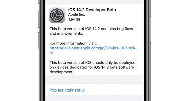 Apple udostępniło deweloperom pierwsze bety iOS 14.2 / iPadOS 14.2 / watchOS 7.1 i tvOS 14.2 polecane, ciekawostki watchOS 7.1, tvOS 14.2, nowosci, lista zmian, iPadOS 14.2, iOS 14.2, Apple  Dość niespodziewanie w nocy firma Apple udostępniła deweloperom pierwsze bety systemów iOS 14.2 / iPadOS 14.2 / watchOS 7.1 i tvOS 14.2. Co zostało zmienione w najnowszym oprogramowaniu? iOS14beta2 650x350