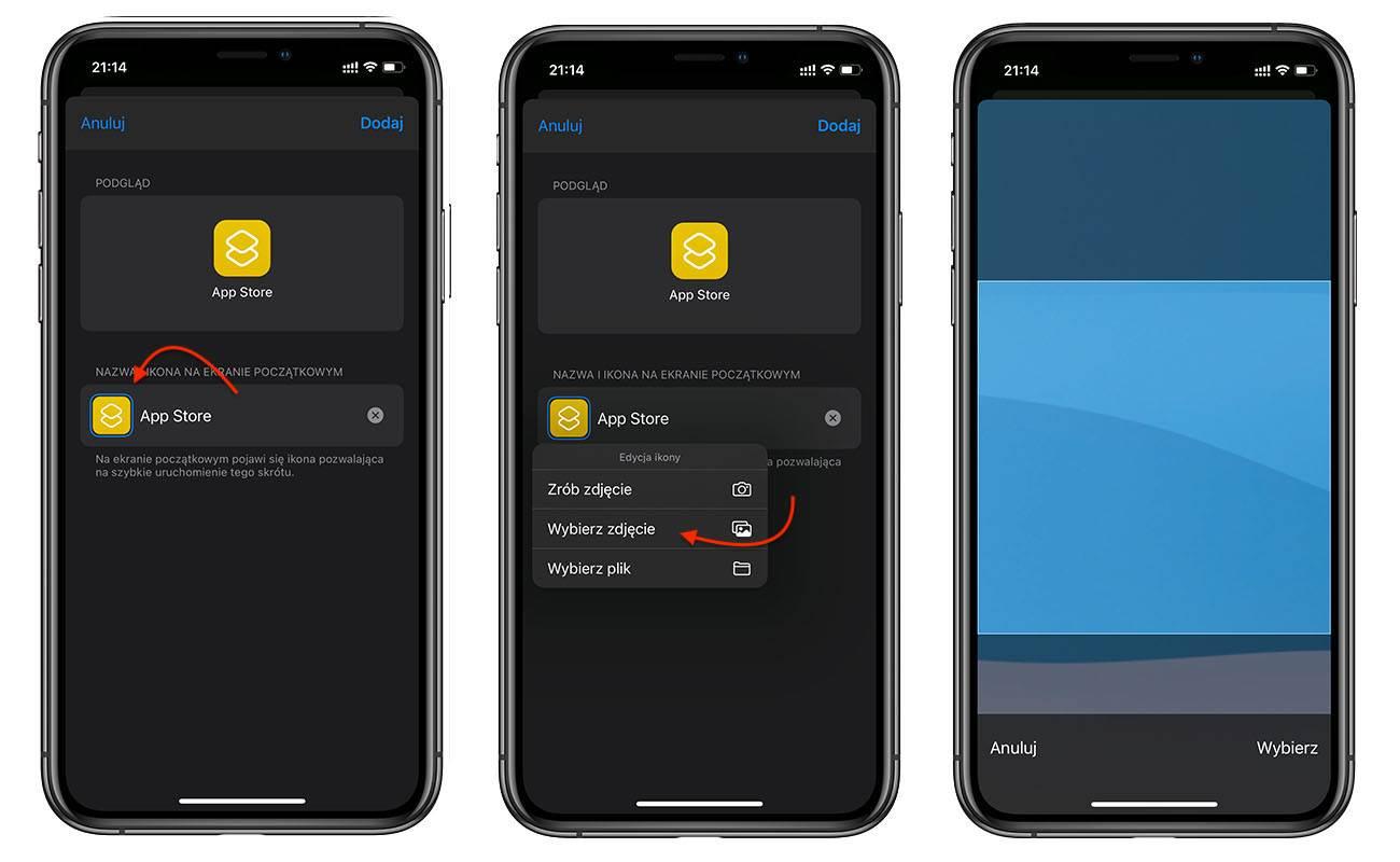 iOS 14 i iPadOS 14 pozwala zmienić wygląd ikon aplikacji. Zobaczcie jak to zrobić! poradniki, polecane, ciekawostki zmiana ikon w iOS 14, zmiana ikon, Wideo, Motywy, motyw na iOS, miana ikon w iPadOS 14, jak zmienic wyglad ikon w iOS 14, jak zmienić wygląd ikon w iOS 14, jak zmienić ikony w iPadOS 14, jak zmienić ikony w iOS 14, jak zmienic ikony w iOS 14, iPhone, iPad, iOS, Instrukcja, Apple  Znudził Ci się tradycyjny wygląd ikon w iOS i iPadOS? Jeśli tak, to dziś pokażemy Wam prosty i darmowy sposób, który pozwala zmienić ikony aplikacji w iOS 14 i iPadOS 14. ikony 4