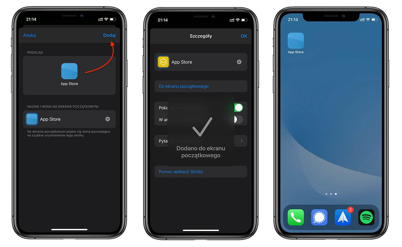 iOS 14 i iPadOS 14 pozwala zmienić wygląd ikon aplikacji. Zobaczcie jak to zrobić! poradniki, polecane, ciekawostki zmiana ikon w iOS 14, zmiana ikon, Wideo, Motywy, motyw na iOS, miana ikon w iPadOS 14, jak zmienic wyglad ikon w iOS 14, jak zmienić wygląd ikon w iOS 14, jak zmienić ikony w iPadOS 14, jak zmienić ikony w iOS 14, jak zmienic ikony w iOS 14, iPhone, iPad, iOS, Instrukcja, Apple  Znudził Ci się tradycyjny wygląd ikon w iOS i iPadOS? Jeśli tak, to dziś pokażemy Wam prosty i darmowy sposób, który pozwala zmienić ikony aplikacji w iOS 14 i iPadOS 14. ikony 6