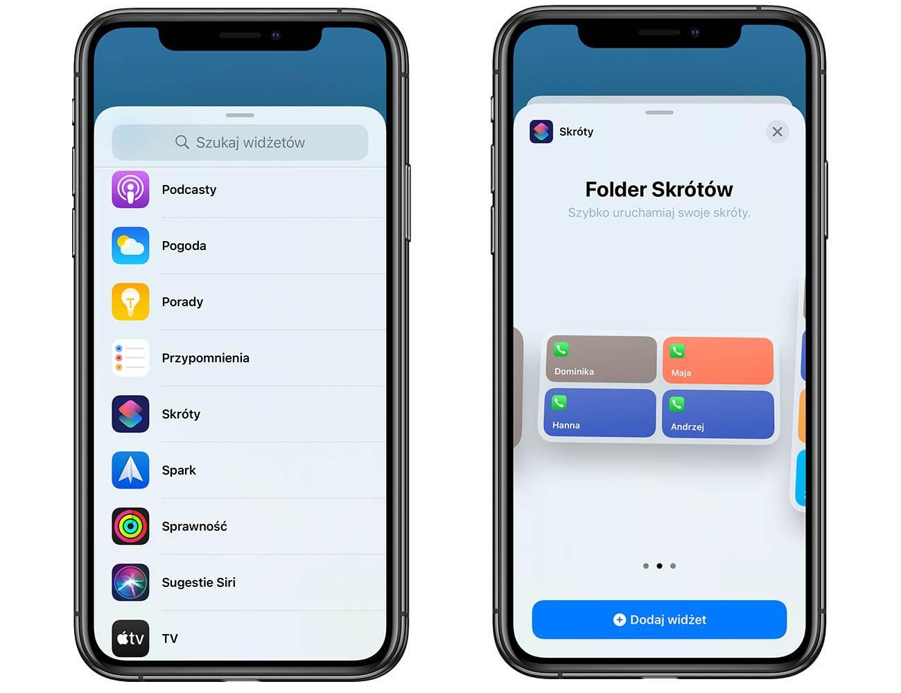 iOS 14 - przywracamy widget ulubione kontakty polecane, ciekawostki widżet, Widget, ulubione kontakty w widgecie, ulubione kontakty, iPhone, iOS 14  Mobilny system operacyjny iOS 14 dostępny jest dla wszystkich od niemal tygodnia. Aktualizacja zawiera szereg przydatnych innowacji, ale zniknęły również niektóre przydatne funkcje znane z iOS 13. kontakty 4