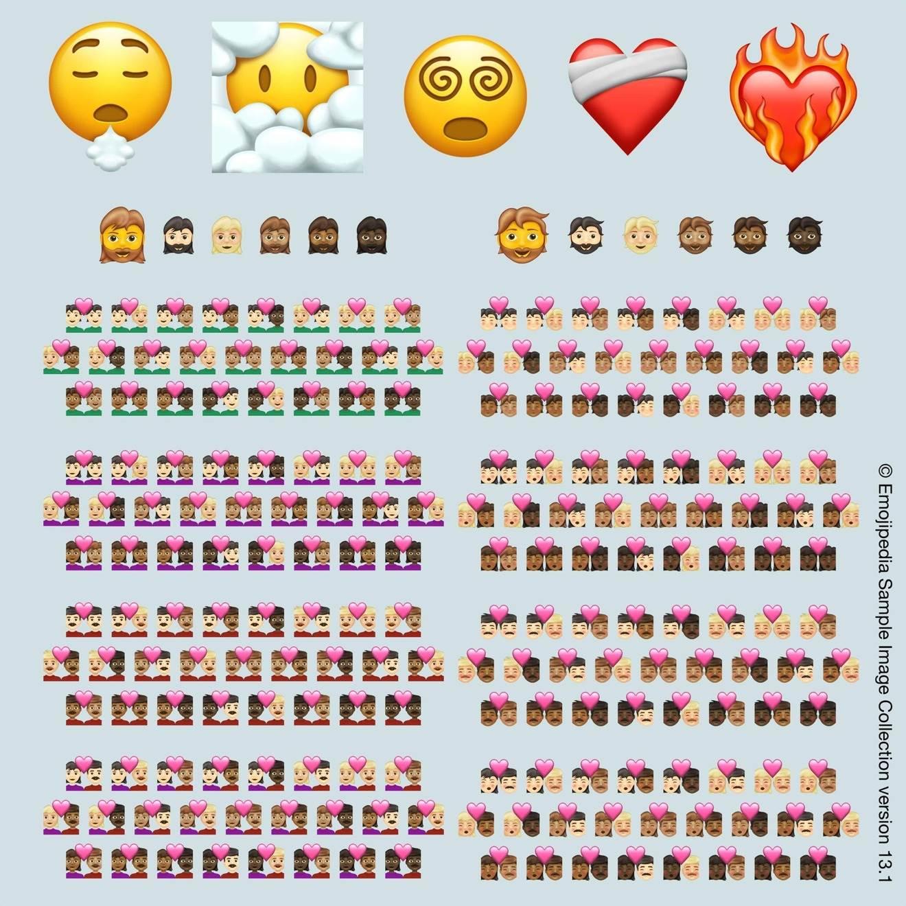 W przyszłorocznym iOS 15 i iPadOS 15 pojawi się 217 nowych emoji polecane, ciekawostki nowe emoji, iPadOS 15, iOS 15, emoji  Konsorcjum Unicode zatwierdziło nowy zestaw emoji, które będą dostępne w przyszłorocznym iOS 15 i iPadOS 15 w iPhone oraz iPad. nowe emoji 2021
