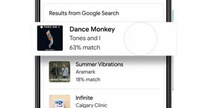 Wyszukiwarka Google nauczyła się rozpoznawać piosenki śpiewane przez użytkownika polecane, ciekawostki wyszukiwarka Google, Wideo, rozpoznawanie utworu, rozpoznawanie muzyki, Hum to search, google rozpoznaje piosenki świewane, Google, funkcja Hum to search  Google uruchomiło nową funkcję w swojej wyszukiwarce o nazwie ?Hum to search?. Funkcja pomaga znaleźć piosenkę, którą użytkownik nuci lub gwiżdże. Google 1 650x350