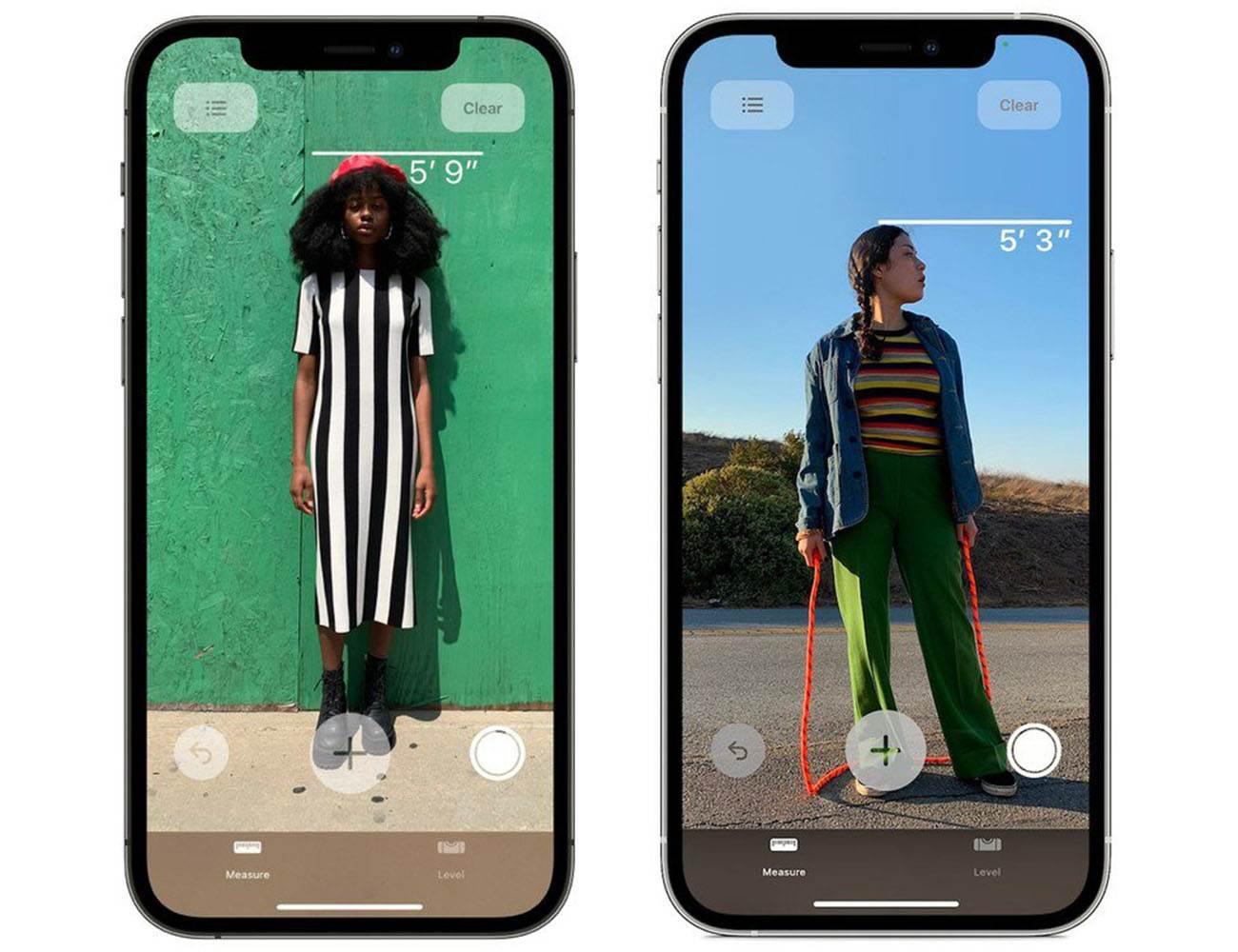 Skaner LiDAR w iPhone 12 Pro / 12 Pro Max pozwala zmierzyć wzrost osoby za pomocą apki Miarka polecane, ciekawostki wzrost, szybki pomiar wzrostu, pomiar wzrostu, Lidar, iPhone12 Pro max, iPhone 12 Pro  iPhone 12 Pro / 12 Pro wyposażony w czujnik LiDAR oprócz lepszych doznań podczas korzystania z AR pozwala także zmierzyć wzrost osoby za pomocą apki Miarka. SkaberLIDAR wzrost