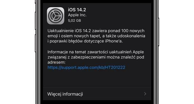 iOS 14.2 - oficjalna lista zmian polecane, ciekawostki zmiany, Nowości, lista zmian w iOS 14.2, lista zmian, iOS 14.2, co nowego w iOS 14.2, co nowego  Interesuje Cię co takiego zmieniło się w iOS 14.2? Jeśli tak to poniżej mamy dla Ciebie pełną i oficjalną listę zmian i nowości w najnowszym mobilnym systemie iOS 14.2. iOS14.2 GM 650x350
