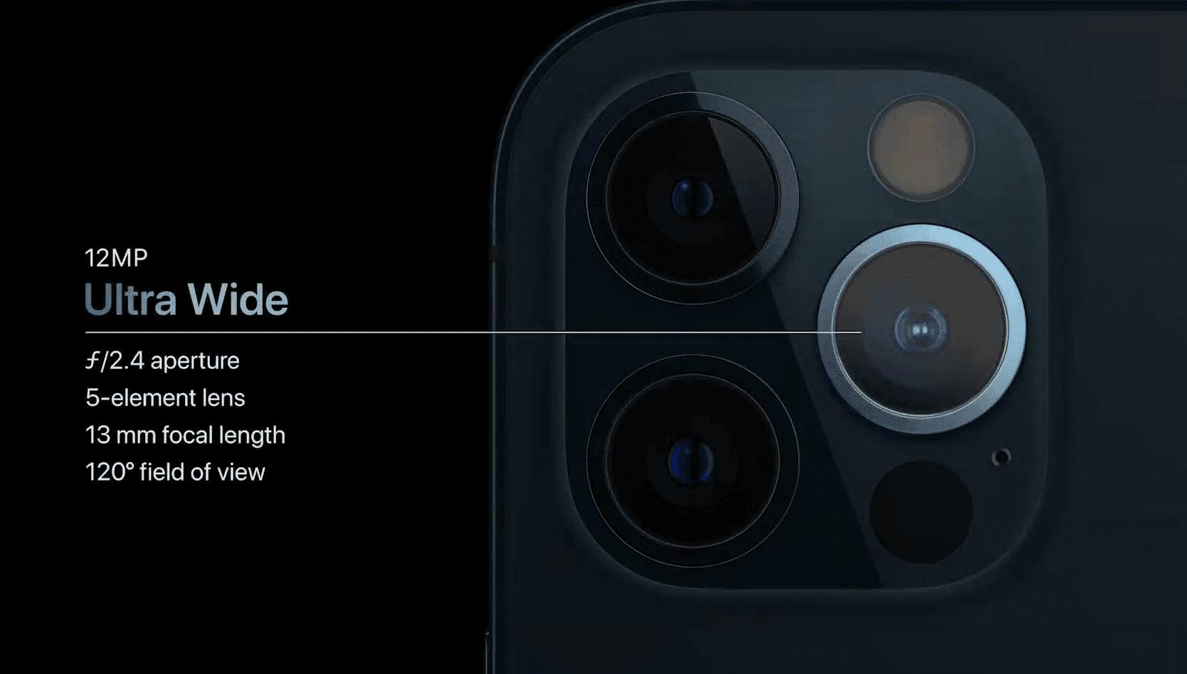 iPhone 12 Pro i iPhone 12 Pro Max oficjalnie zaprezentowane polecane, ciekawostki oficjalnie, iPhone 12 Pro Max, iPhone 12 Pro, Apple  Dziś oprócz iPhone 12 i iPhone 12 mini firma Apple zaprezentowała także iPhone 12 Pro i iPhone 12 Pro Max. Czym urządzenia różnią się od swoich poprzedników? Już wyjaśniamy. iphone 12 pro camera