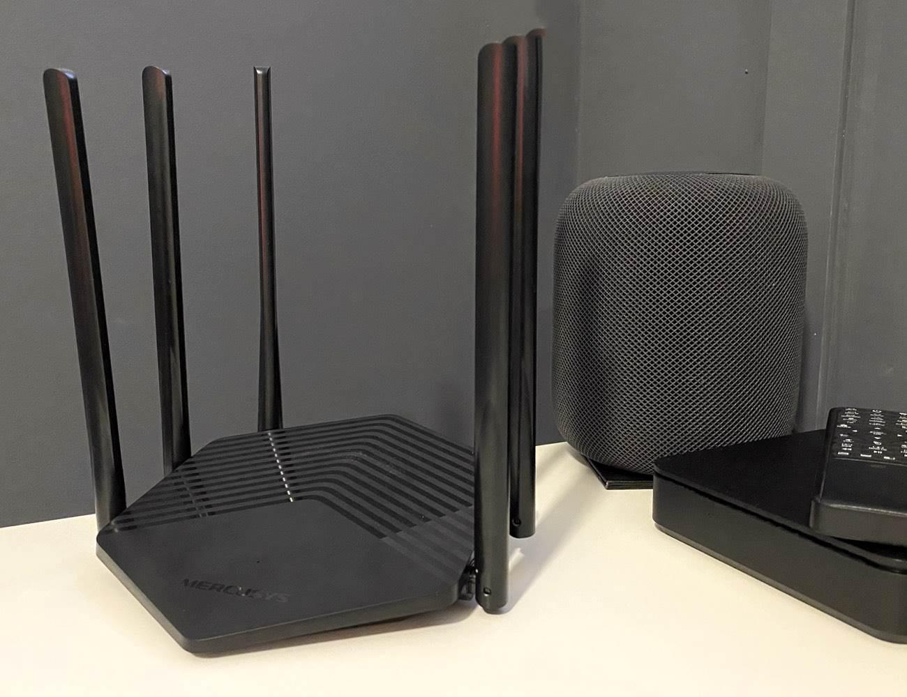 Mercusys MR50G - szybki dwupasmowy router z dużym zasięgiem do Twojego mieszkania recenzje, polecane, ciekawostki router Mercusys MR50G, Recenzja, Mercusys MR50G  Kilka tygodni temu otrzymaliśmy do testów Mercusys MR50G, czyli niewielki kompaktowy router z sześcioma antenami zapewniającymi spory zasięg i szybkim Wi-Fi AC. M 2