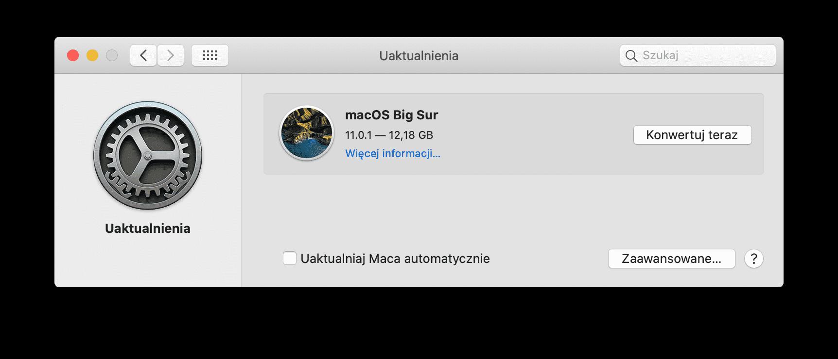 macOS Big Sur oficjalnie dostępny! ciekawostki ofcijalnie, nowości w macOS Big Sur, macOS Big Sur, lista zmian, co nowego  Po wielu miesiącach testów, właśnie teraz firma Apple udostępniła wszystkim użytkownikom finalną wersję macOS Big Sur. Poniżej tradycyjnie pełna i oficjalna lista zmian. Zrzut ekranu 2020 11 12 o 19.24.34@2x