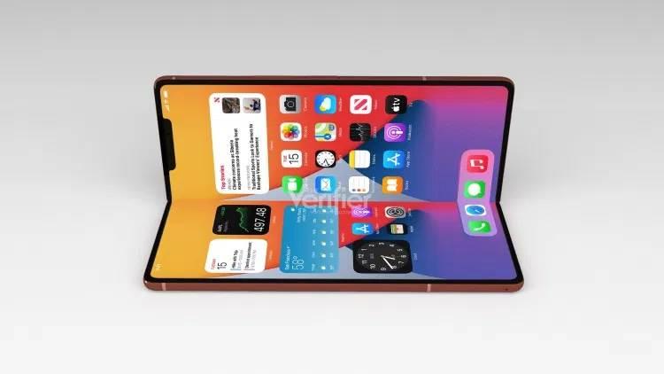 Apple zaprzestanie produkcji iPada mini po premierze składanego iPhone'a polecane, ciekawostki składany iPhone, iPhone, Apple  Izraelski portal The Verifier udostępnił ekskluzywne informacje na temat przyszłego smartfona Apple ze składanym wyświetlaczem i ujawniło termin jego wydania. foldable phone