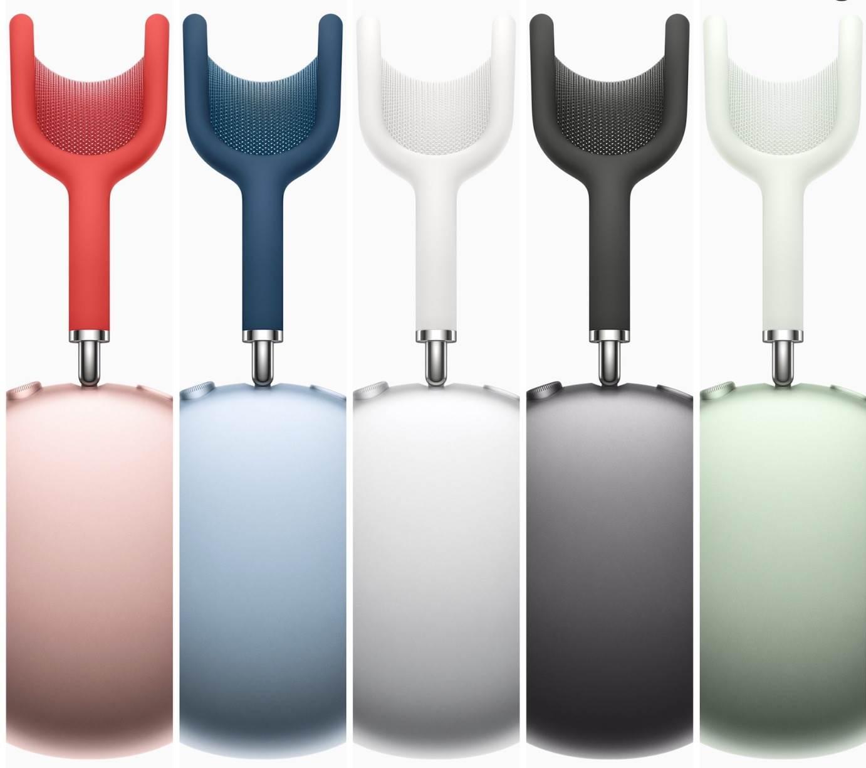 Apple przedstawia nauszne słuchawki AirPods Max polecane, ciekawostki sluchawki nauszne, ile kosztuja AirPods Max, ile kosztują, cena Airpods Max w polsce, cena, Apple, AirPods Max  Dosłownie kilka chwil temu, Apple przedstawiło światu nowe nauszne słuchawki z redukcją szumów i dźwiękiem przestrzennym. Poznajcie AirPods Max. 1@2x 2