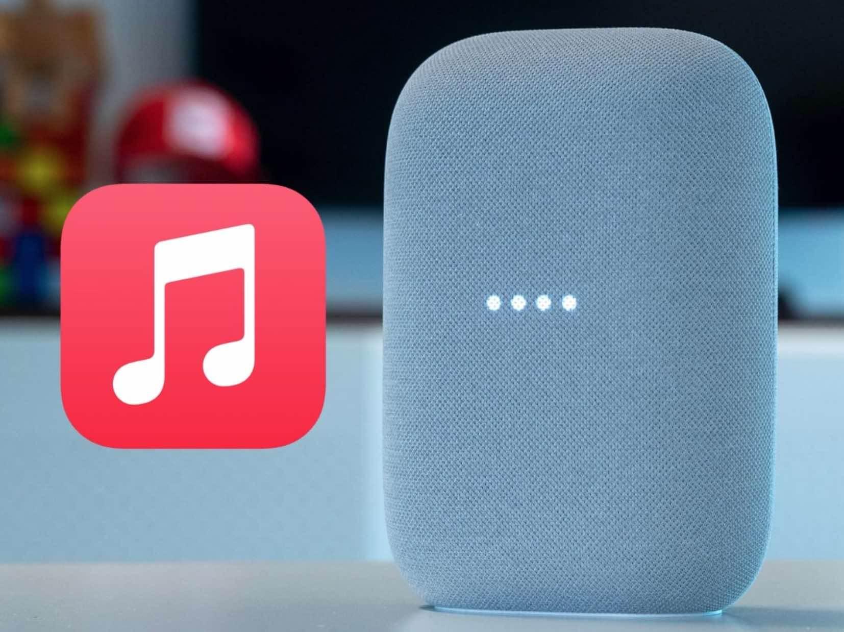 Apple Music dostępne dla użytkowników Google Nest i innych inteligentnych głośników z Asystentem Google polecane, ciekawostki Google, głośnik Google, glosnik, Apple music  Google dodało pełną obsługę usługi strumieniowania Apple Music do Google Nest, Nest Audio, Nest Hub Max, Nest Mini oraz innych inteligentnych głośników z Asystentem Google. AppleMusic