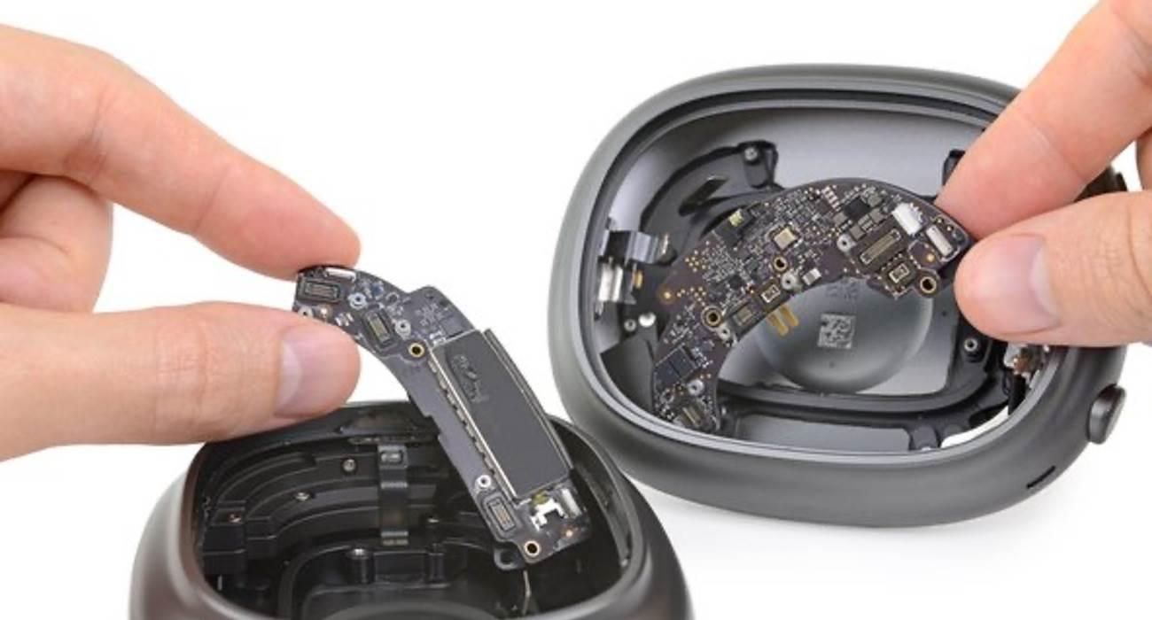 iFixit prześwietliło najnowsze słuchawki AirPods Max polecane, ciekawostki jak rozkrecic, jak rozkręcić, jak rozebrac, ifixit, AirPods Max  iFixit podzieliło się pierwszą częścią procesu demontażu nowych słuchawek Apple AirPods Max, aby ocenić łatwość ich naprawy. AppleProMax